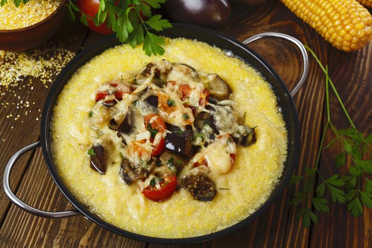 parmesan-polenta