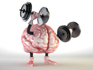 CG Brain Lifting Weights